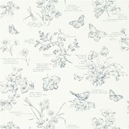 Ralph Lauren Tapet Nature Study Toile Elderberry