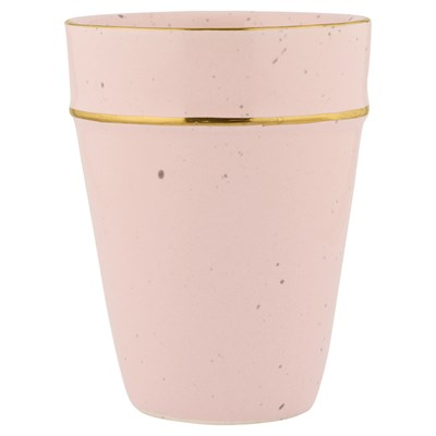 GreenGate Lattemugg Pale pink/Gold