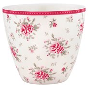 GreenGate Lattemugg Flora White