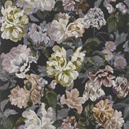 Designers Guild Tapet Delft Flower Charcoal