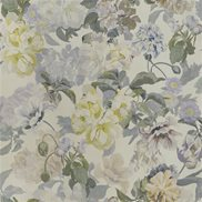 Designers Guild Tapet Delft Flower Pewter