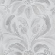 Designers Guild Tapet Angelique Damask Steel