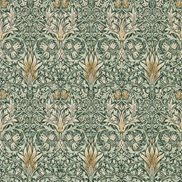 William Morris & Co Tapet Snakeshead Forest/Thyme