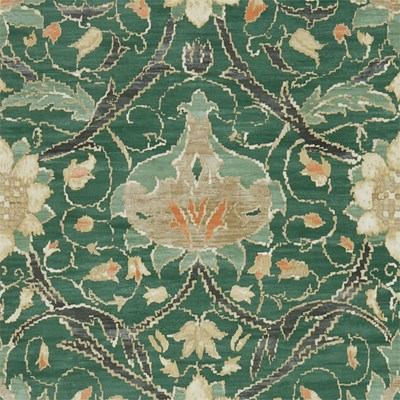 William Morris & Co Tapet Montreal Forest/Teal