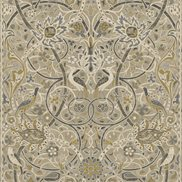 William Morris & Co Tapet Bullerswood Stone/Mustard