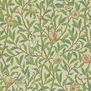 William Morris & Co Tapet Bird & Pomegranate Bayleaf/Cream