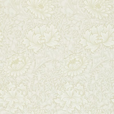 William Morris & Co Tapet Chrsyanthemum Chalk