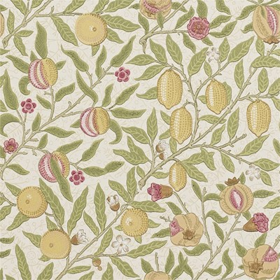 William Morris & Co Tapet Fruit Limestone/Artichoke