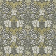 William Morris & Co Tapet Honeysuckle & Tulip Charcoal/Gold