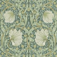 William Morris & Co Tapet Pimpernel Privet/Slate