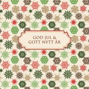 Kort God jul & Gott nytt år