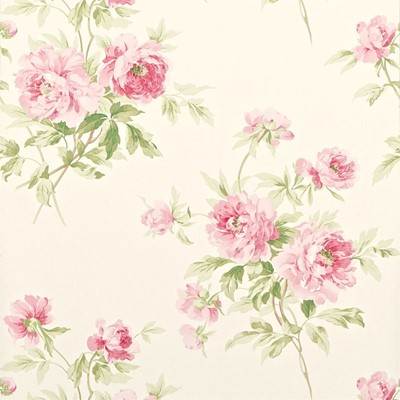 Sanderson Tapet Adele Rose/Cream