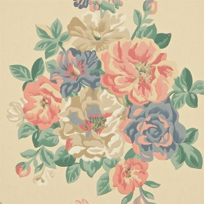 Sanderson Tapet Midsummer Rose Antique/Rose