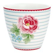 GreenGate Lattemugg Lily White