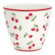 GreenGate Lattemugg Cherry White