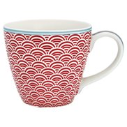GreenGate Mugg Nancy Red