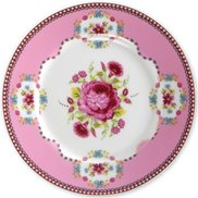 PiP Studio Tallrik Big Flower Pink 17 cm