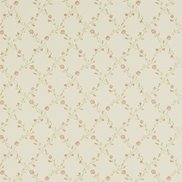 Sanderson Tapet Forget Me Not Cream/Rose