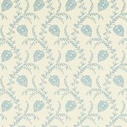 Sanderson Tapet Pelham Ivory/China Blue