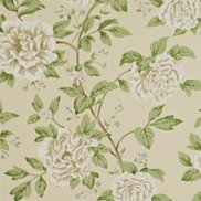 Sanderson Tapet Peony Tree Neutral/Duck Egg