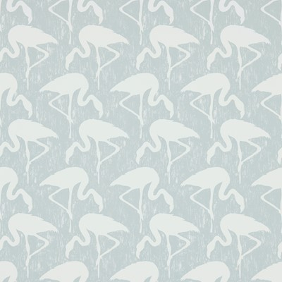 Sanderson Tapet Flamingos Dove/Chalk