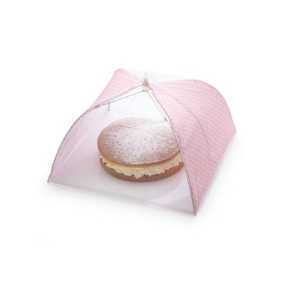 KitchenCraft Food Cover Pink