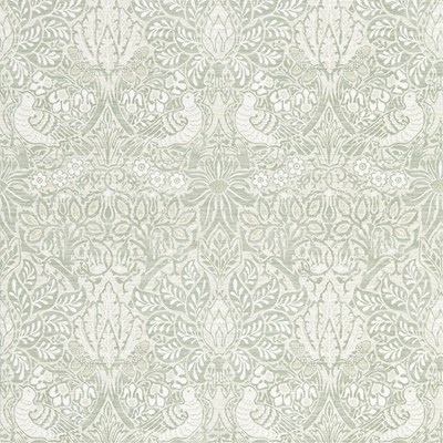William Morris & Co Tapet Pure Dove and Rose Grey Blue