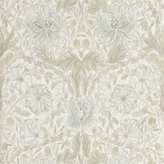 William Morris & Co Tapet Pure Honeysuckle & Tulip Linen
