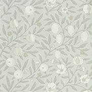 William Morris & Co Tapet Pure Fruit Grey Blue