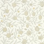 William Morris & Co Tapet Pure Fruit Horned Poppy/Grey