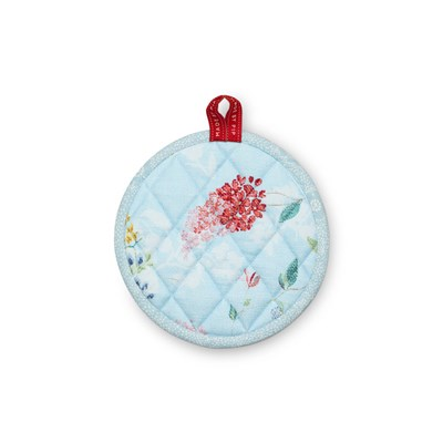 PiP Studio Grytlapp Rund Hummingbirds Blue
