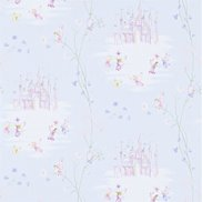 Sanderson Tapet Fairy Castle Blue