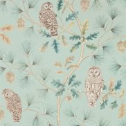Sanderson Tapet Owlswick Whitstable Blue