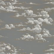 Sanderson Tapet Silvi Clouds Taupe Grey