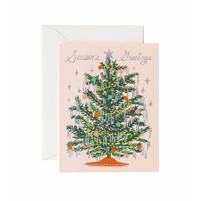 Rifle paper co Kort Tinsel Tree