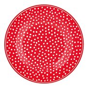 GreenGate Tallrik Dot Red 15 cm