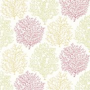 Sanderson Tapet Coral Reef Tropical/Brights