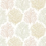 Sanderson Tapet Coral Reef Amber/Russet