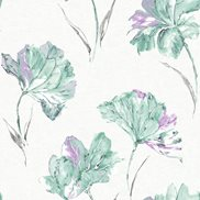 Intrade Tapet Azalea Heather Teal