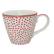 GreenGate Mugg Dot White