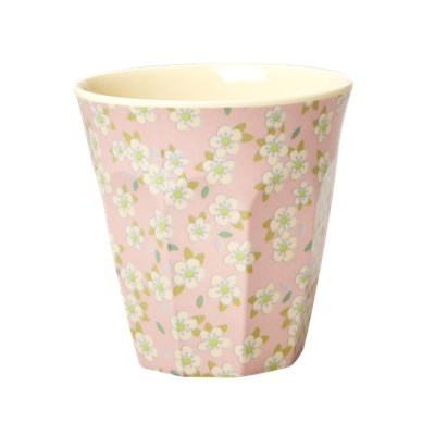 Rice Mugg Small Flower Pink Medium