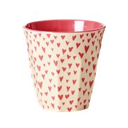 Rice Mugg Small Hearts Medium