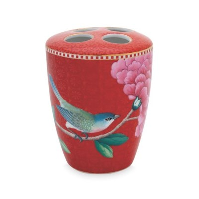 PiP Studio Tandborstmugg Good Morning Red