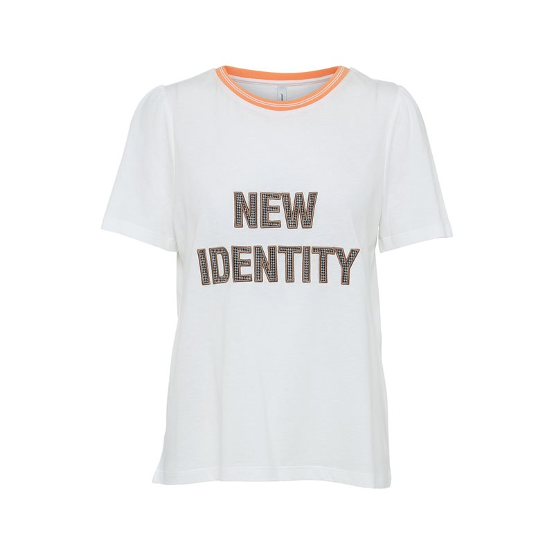 Soyaconcept T-shirt Ingun vit - systerlycklig.se c6fccc37b2f32
