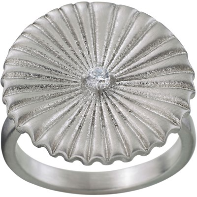 Edblad Ring Crinkle Matt Steel