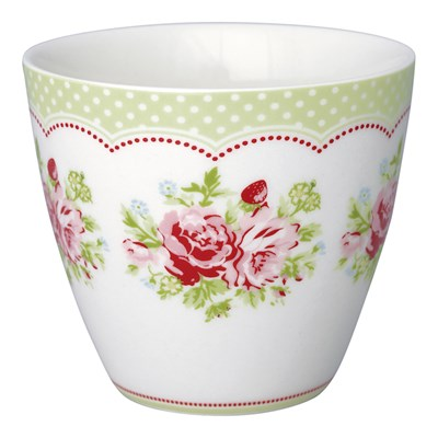 GreenGate Lattemugg Mary White