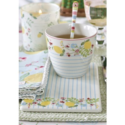 GreenGate Lattemugg Limona White