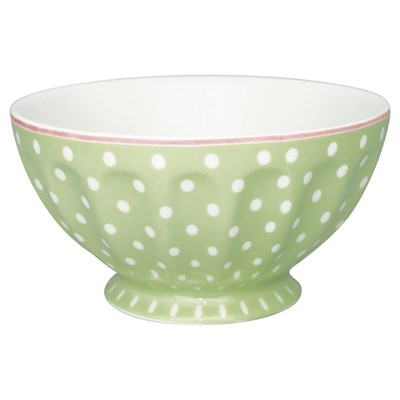 GreenGate Skål Spot Pale green 13,5 cm