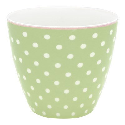 GreenGate Lattemugg Spot Pale green