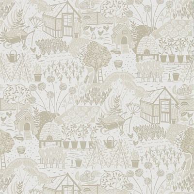Sanderson Tapet The Allotment Linen